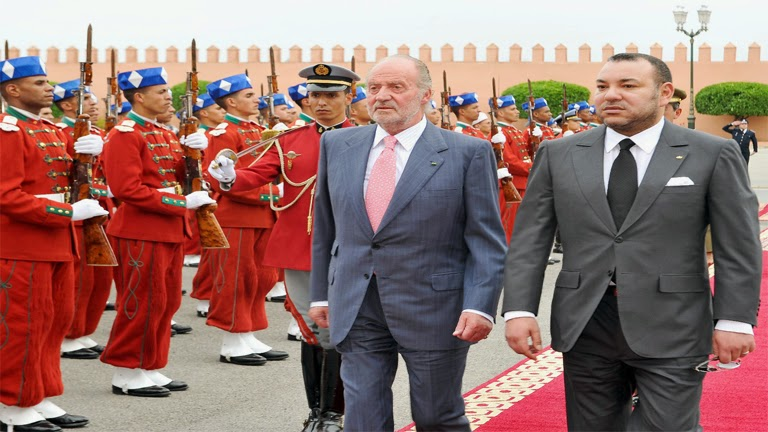 Juan Carlos y Mohamed VI