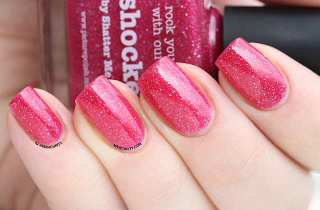Manicurity | piCture pOlish #ManiMonday: Shocked - Swatches, Review, and Skittle Nail Art