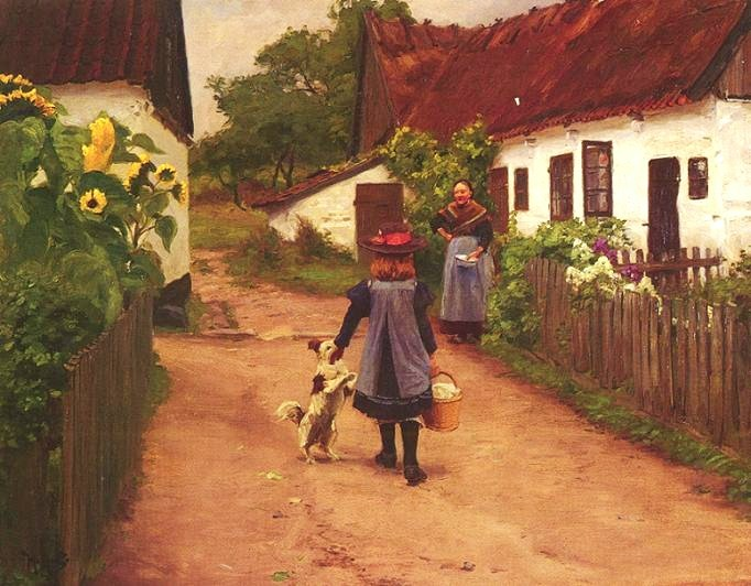 Blog of an Art Admirer: Hans Anderson Brendekilde (1857 ...