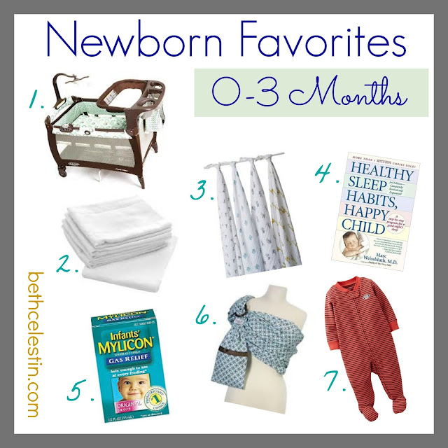 Favorite Newborn Products 0-3 Months (Great Baby Shower Gift Ideas!)