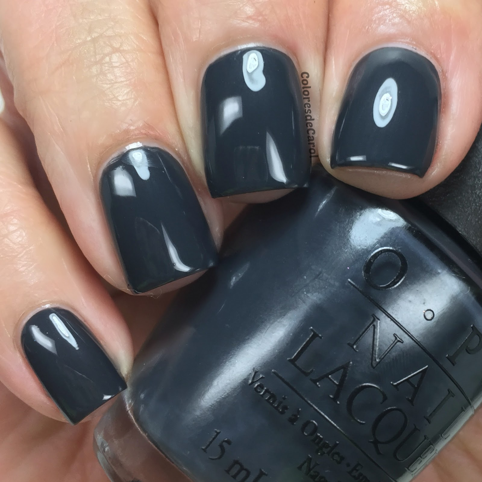 Colores de Carol: OPI 50 Shades Of Grey, swatches, review and giveaway.