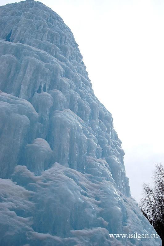 """Ледяной фонтан 2010. Национальный парк """"Зюраткуль"""". Челябинская область"""