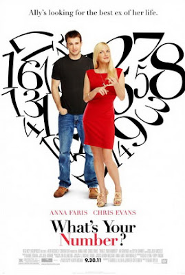 What's Your Number film poster movie review Chris Evans Anna Faris