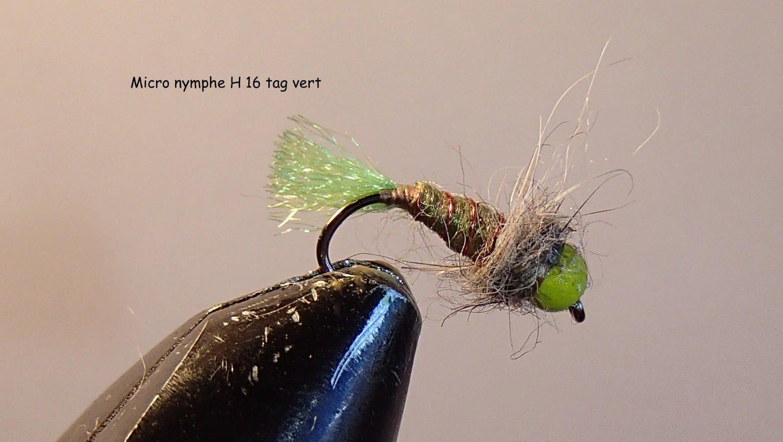 Nymphe tag vert