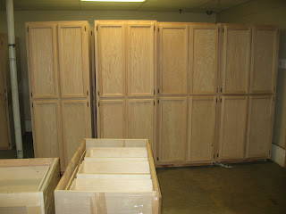 Blue Ridge Surplus Oak Unfinished Cabinets