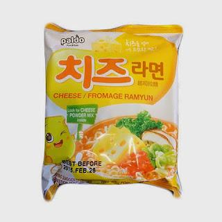 mi instan cheese ramyun korea