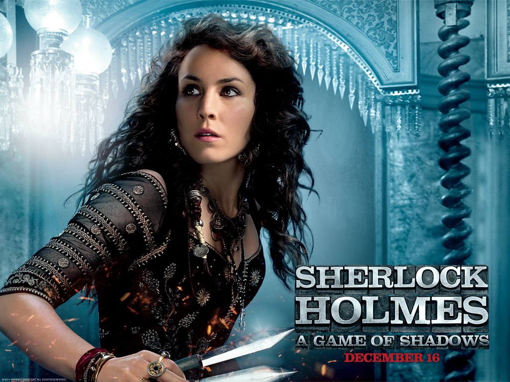 noomi rapace in sherlock holmes wallpapers - Noomi Rapace in Sherlock Holmes 2 Wallpapers HD