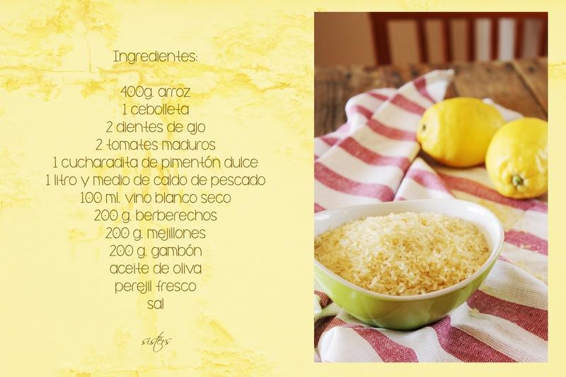 Sisters arroz caldoso con berberechos - Como cocinar berberechos ...