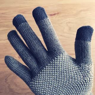 無印 タッチパネル 手袋