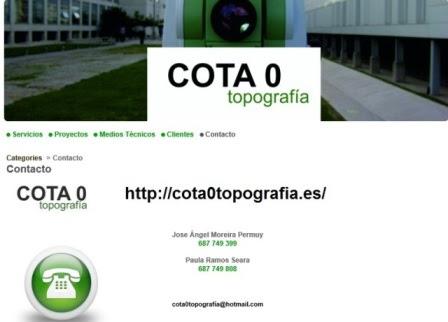 Cota 0 Topografía
