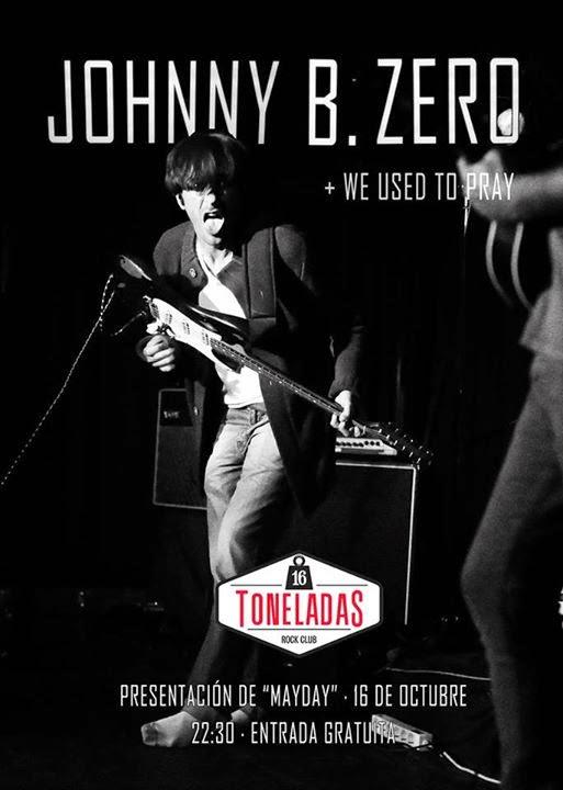 Johnny B.Zero presenta su nuevo disco