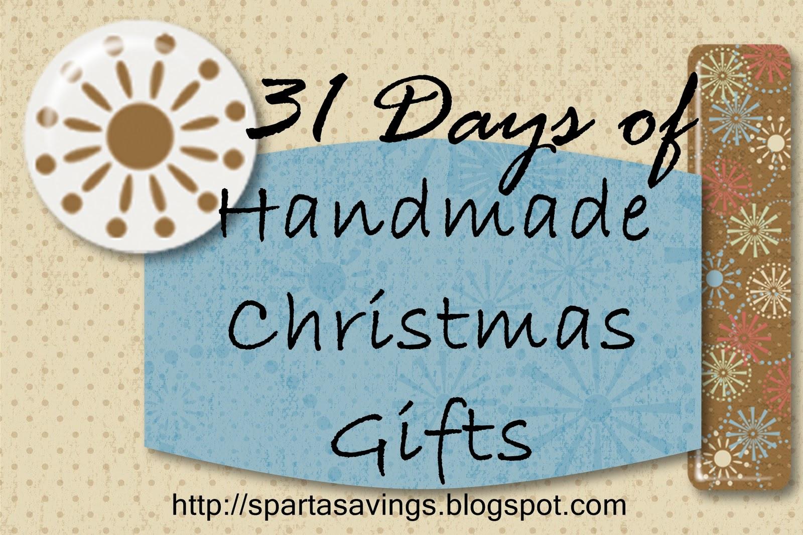 Sparta Savings: 31 Days of Handmade Christmas Gifts - Day 12 - Easy ...