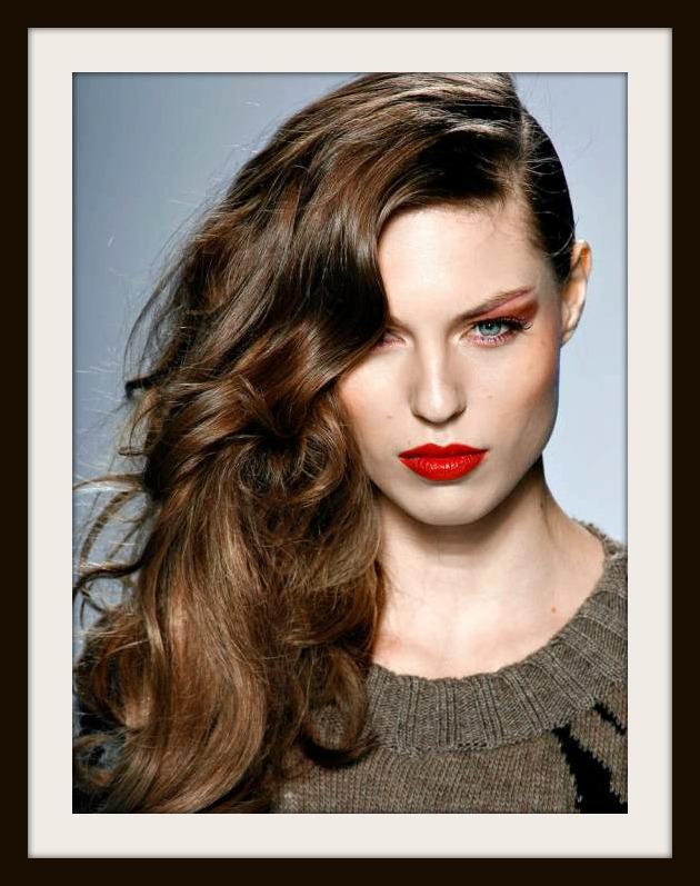 Tutorial peinado melena de lado un 10 en belleza - Tutorial de peinados ...