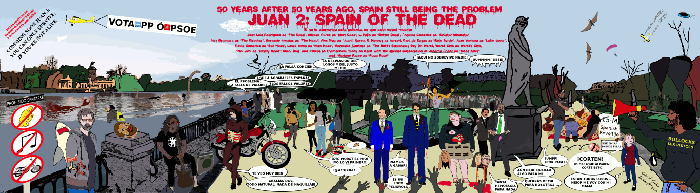 Spain of the Dead, (c) Gabriel Cordero Huertas / Dr. Worst