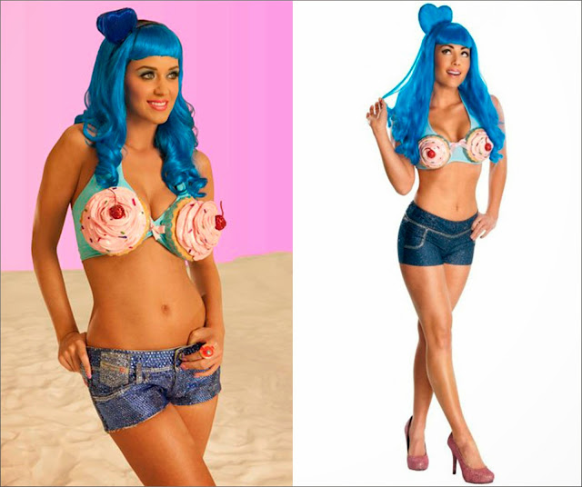 Katy Perry California Gurls y, disfraz Katy Perry California Gurls