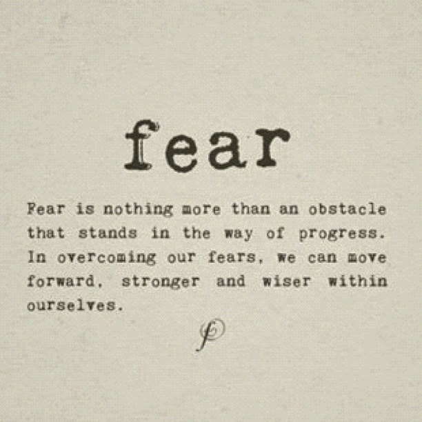 the fear within us Fear of god as wisdom  when scripture tells us that the fear of god is the  there is however a healthy fear that's innate within the dynamics of.