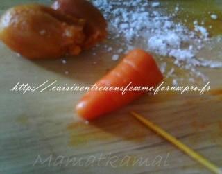 moroccan cuisine marocaine carottes 224 base de p 226 te d amande pour d 233 corer les g 226 teau almond