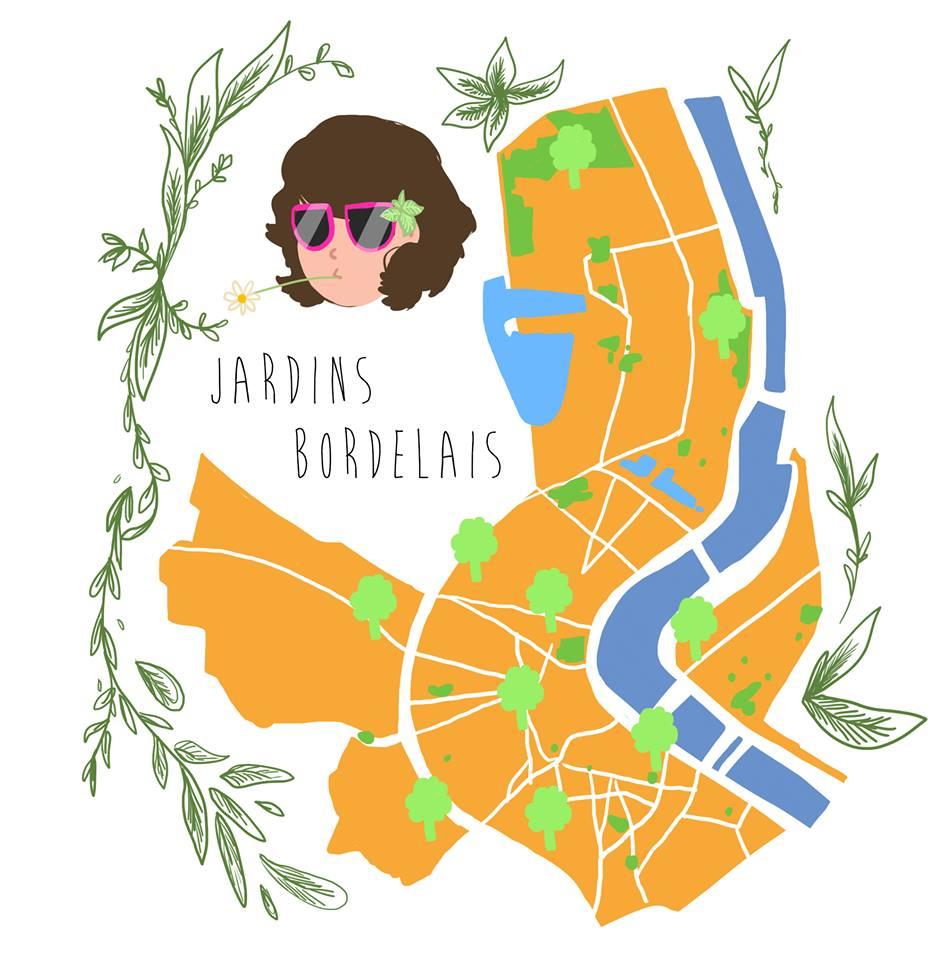 Les jardins à Bordeaux