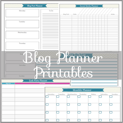 photo about Printables Blog named Blog site Planner Printables Aspect 1 - My Might Sun
