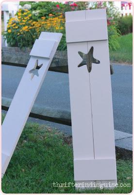 Starfish Shutter DIY
