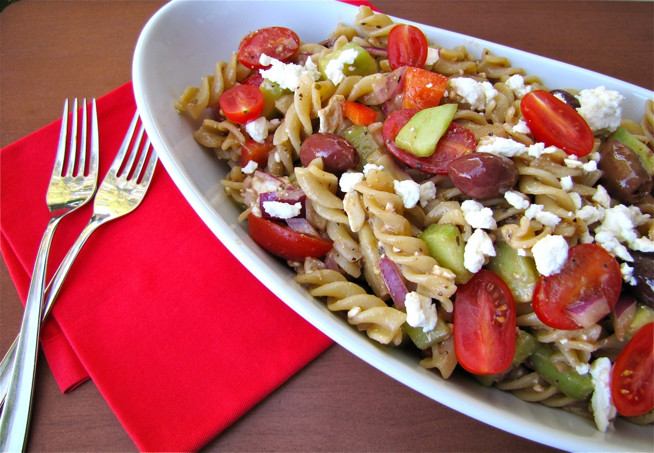 Susi's Kochen Und Backen Adventures: Greek Pasta Salad