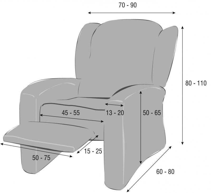 Hogar 10 c mo hacer fundas para el sill n iii - Como hacer una funda para sillon ...