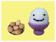 """""""huevo amigurumi"""""""