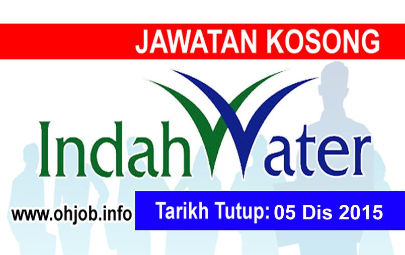 Jawatan Kerja Kosong Indah Water Konsortium (IWK) logo www.ohjob.info disember 2015