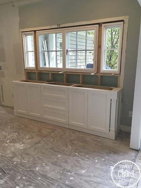 all throughout the remodel i had a tendency to obsess over every detail and decision except for the window aside from selecting the type of window - Kitchen Pass Through
