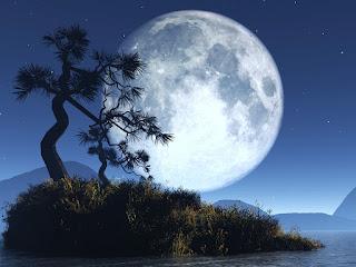 Gambar Wallpaper Bulan Purnama