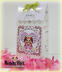 Valentine Scalloped Box tutorial by Wendy