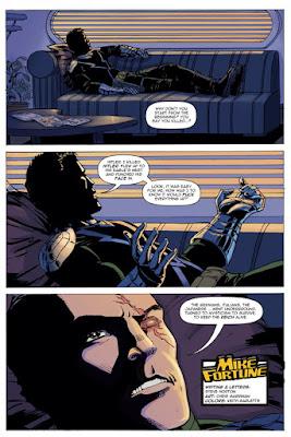 Mike Fortune, comics, Dark Horse Comics, image