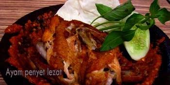 ayam penyet lezat