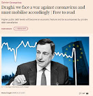 Mario Draghi sul Financial Times