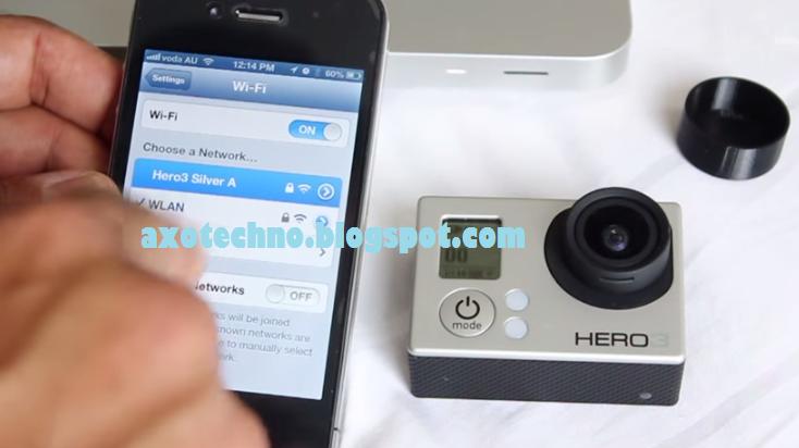 Cara Menghubungkan Wifi GoPro Hero3 Dengan Android dan iPhone