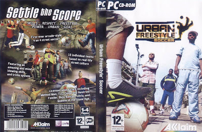 Urban Freestyle Soccer PC DVD Capa