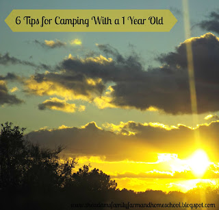 6 Tips for Camping With a 1 Year Old