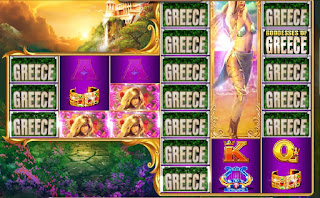 Goddesses of Greece is a fun online slot game