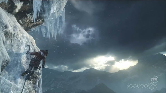 e3 2015  rise of the tomb raider