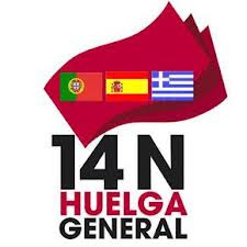 14N HUELGA GENERAL EN ESPAA, PORTUGAL Y GRECIA