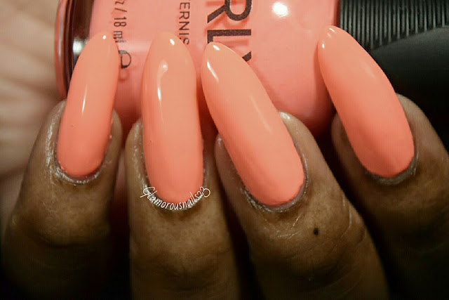 "Orly Adrenaline Rush ""Push The Limit"" Swatch"