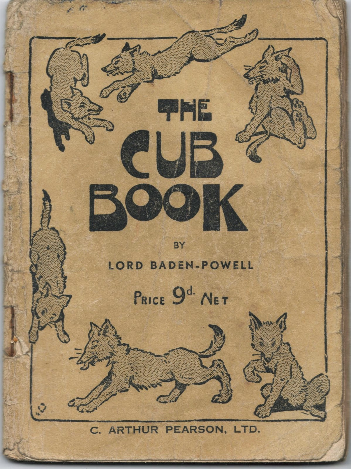 The Cub Book by Lord Baden-Powell