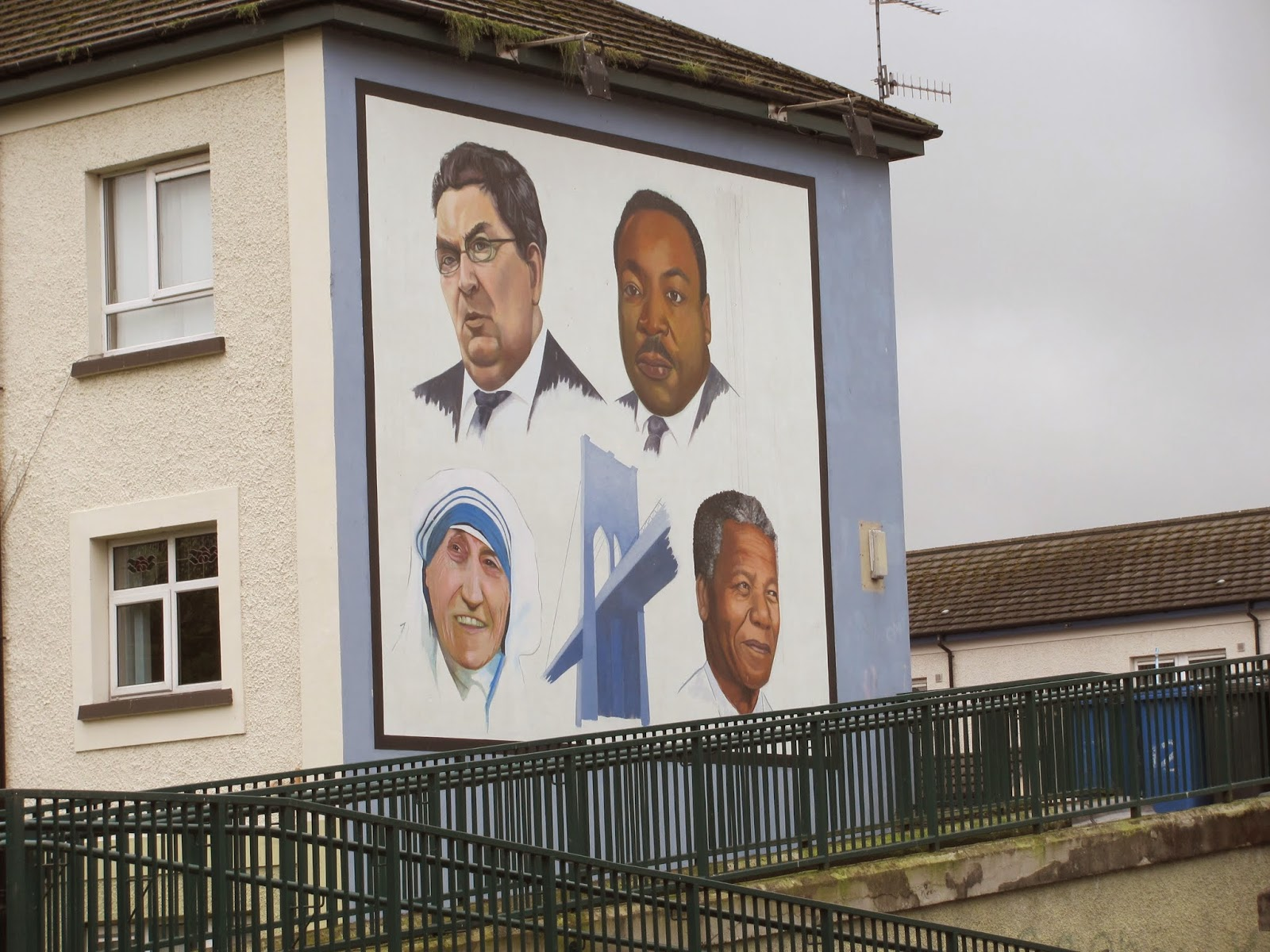 John Hume- Nationalist Leader Hume, Martin Luther King Jr., Mother Theresa, and Nelson Mandela