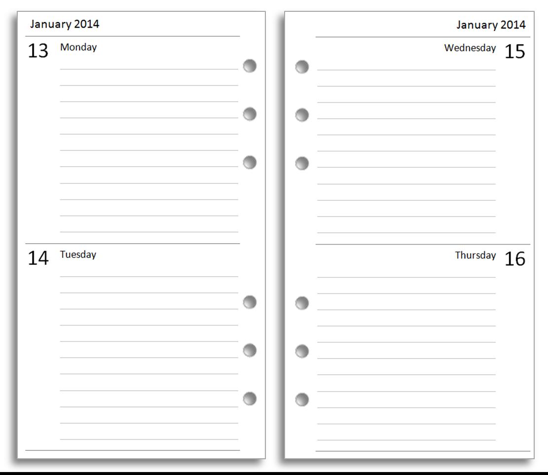 diary paper template – Diary Paper Template