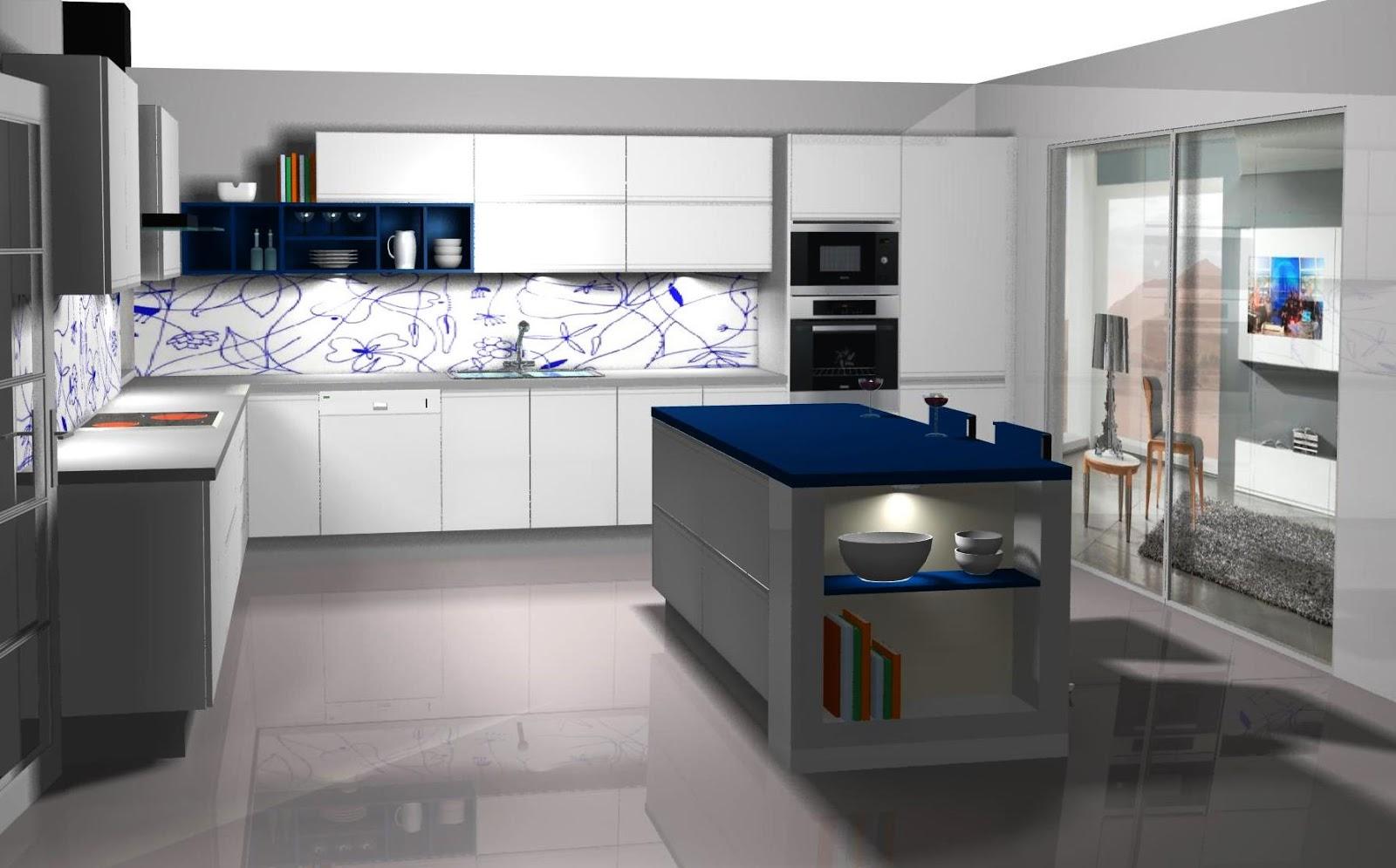 Dise o muebles de cocina dise o de cocina lacada en - Diseno para cocina ...