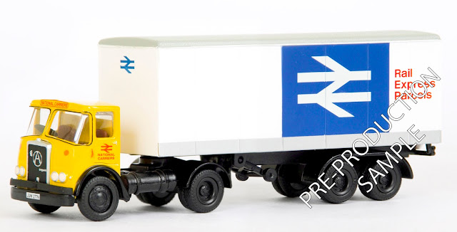 EFE PRE-PRO 40201 - Atkinson Articulated Box van - National Carriers Registration number JUW 277N. Scheduled for a September Release  RRP £34.50