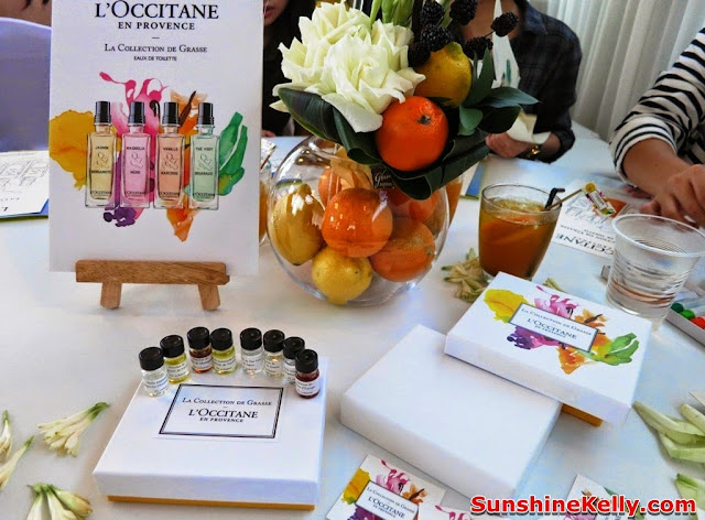 L'Occitane La Collection de Grasse Fragrance, L'Occitane, Fragrance, new products, product launch, zebra square kl