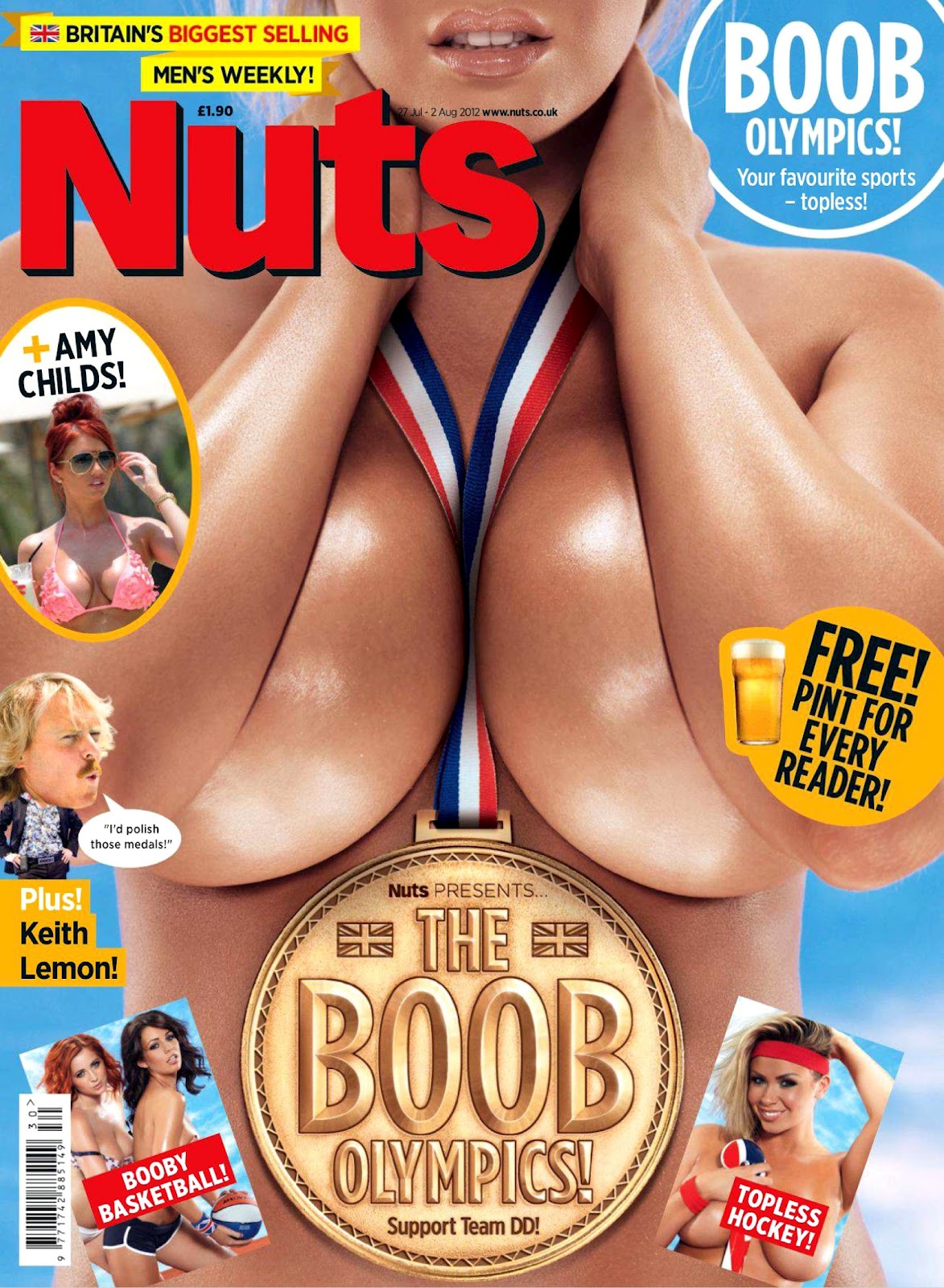 Speaking, Girls of nuts mag nude agree with