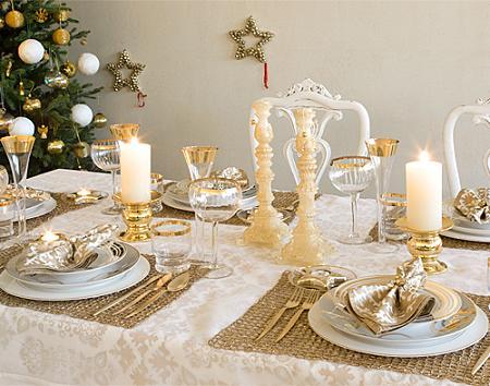 mesas natal Dicas para decoração de ano novo   reveillon