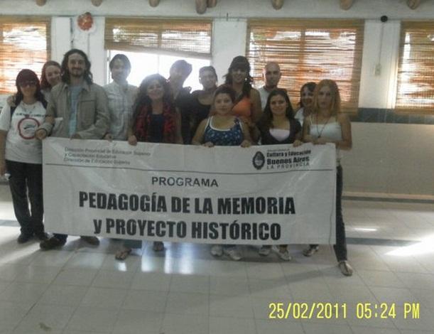 La Jauretche y el PROGRAMA DE PEDAGOGÍA DE LA MEMORIA